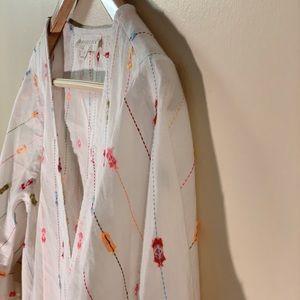 Lovestich 'Ayla' Striped Ruffle Sleeve Top